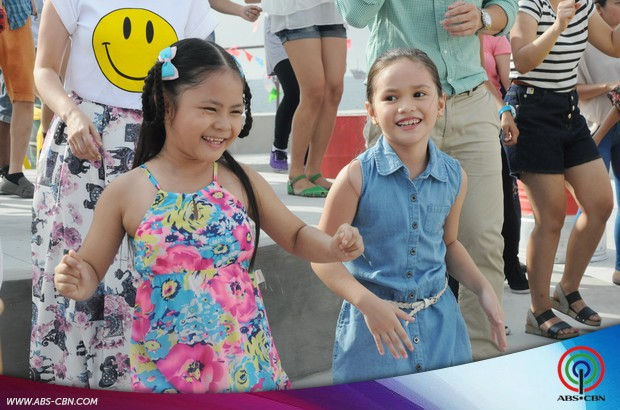 Flordeliza cast shines at the ABS-CBN Summer Station ID 2015